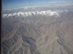 The view flying to Leh